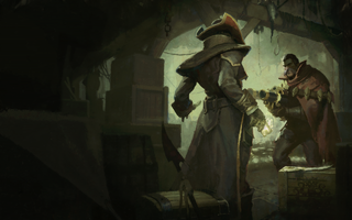 Graves & Twisted Fate Login Screen still