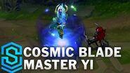 Kosmische Klinge Master Yi - Skin-Spotlight