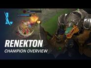 Renekton Champion Overview - Gameplay - League of Legends- Wild Rift