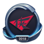 Worlds 2018 Rogue Warriors Emote