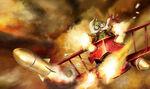 Czerwony Baron Corki stary obraz 2