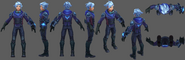 Ezreal Update Frosted Model 01