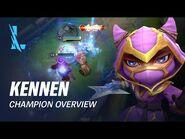 Kennen Champion Overview - Gameplay - League of Legends- Wild Rift