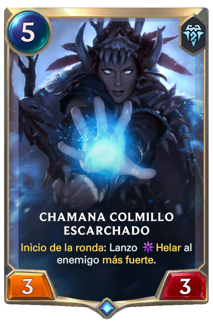 Chamana Colmillo Escarchado (Legends of Runeterra)