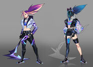 Akali KDAALLOUT Concept 03