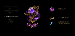 Honor Level 4 Checkpoints Rewards