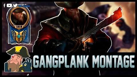 Gangplank Tobias Fate Montage - Best Gangplank 1 Million Mastery Points