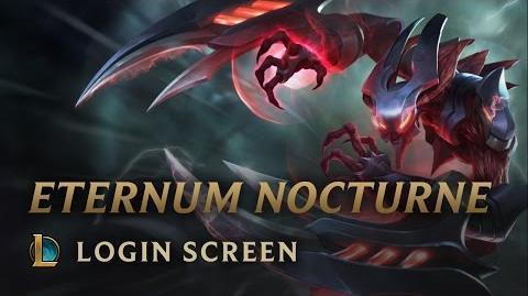 Przedwieczny Nocturne - ekran logowania