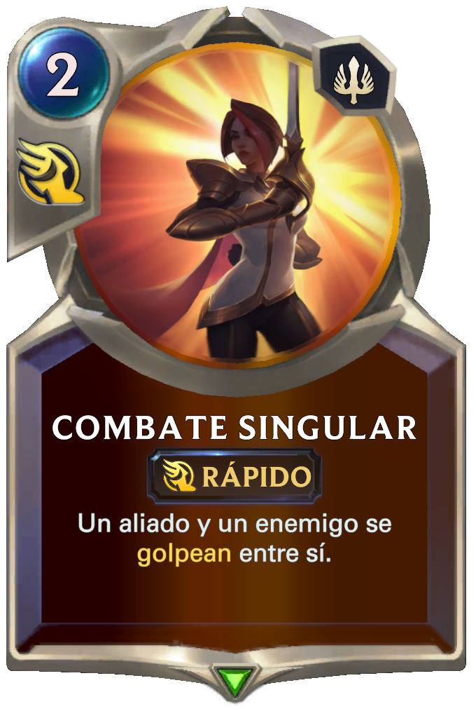 Combate Singular (Legends of Runeterra)