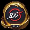 Emotka Mistrzostwa 2018 – Złote 100