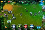 League of Legends Turret Defense Gameplay - Pause Screen