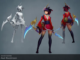 Akali Update Blutmond model 01