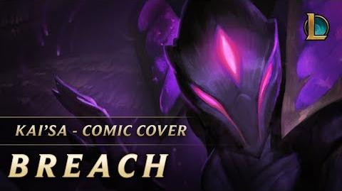 Kai'Sa Breach Comic Cover - League of Legends