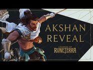 Akshan Reveal - New Champion - Legends of Runeterra