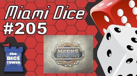 Miami Dice 205 Mechs vs. Minions (League of Legends Board Game)