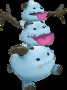 Poro Snowman Render old
