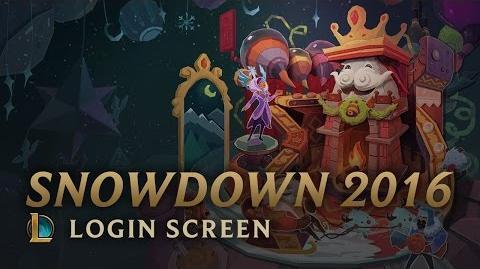 Snowdown Showdown 2016 - ekran logowania