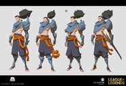 Yasuo Kin of the Stained Blade Concept 17