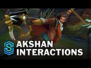 Akshan Special Interactions