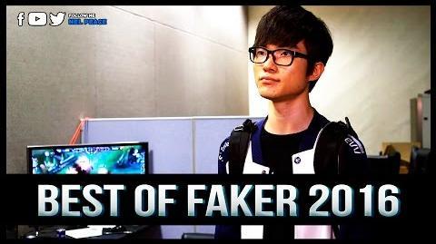 Faker Montage 2016 - Best Of Faker 2016
