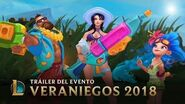 Olvídate de la Rutina Tráiler de Veraniegos 2018 - League of Legends