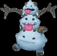 Poro Snowman Render