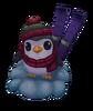 Pinguin-Ski-Auge
