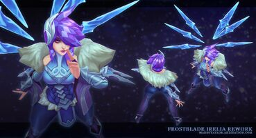 Irelia Update Frostklingen- model 01