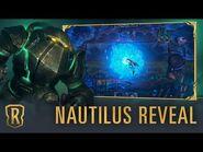 Nautilus Reveal - New Champion - Legends of Runeterra