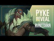 Pyke Reveal - New Champion - Legends of Runeterra