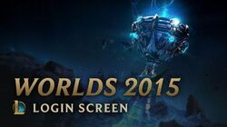 WM 2015 - Login Screen
