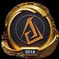 Worlds 2018 Ascension Gaming (Gold) Emote