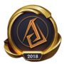 Worlds 2018 Ascension Gaming (Gold) Emote
