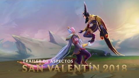 El amor es un carril de batallas Tráiler de Aspectos Cariñositos 2018 - League of Legends