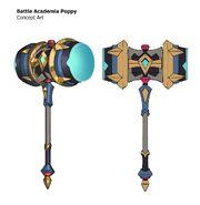 Poppy BattleAcademia LoR Concept 04
