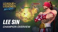 Lee Sin Champion Overview Gameplay - League of Legends Wild Rift