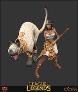 Nidalee Update Pharaoh Model 03