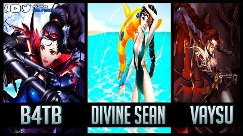 B4TB vs Divine Sean vs Vaysu - Best Vayne Plays - Who is the best ?
