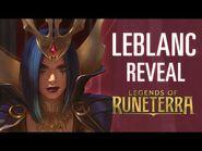 LeBlanc Reveal - New Champion - Legends of Runeterra