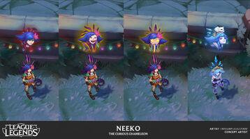 Neeko Emotes Konzept 4