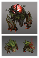 Summoner's Rift Update Creature Red Buff