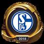 Worlds 2018 FC Schalke 04 Esports (Gold) Emote