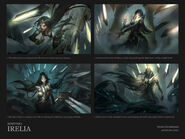 Strażniczka Irelia - Koncept Portretu 02