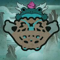 Tempel der Lilie und des Lotus Karte 2d