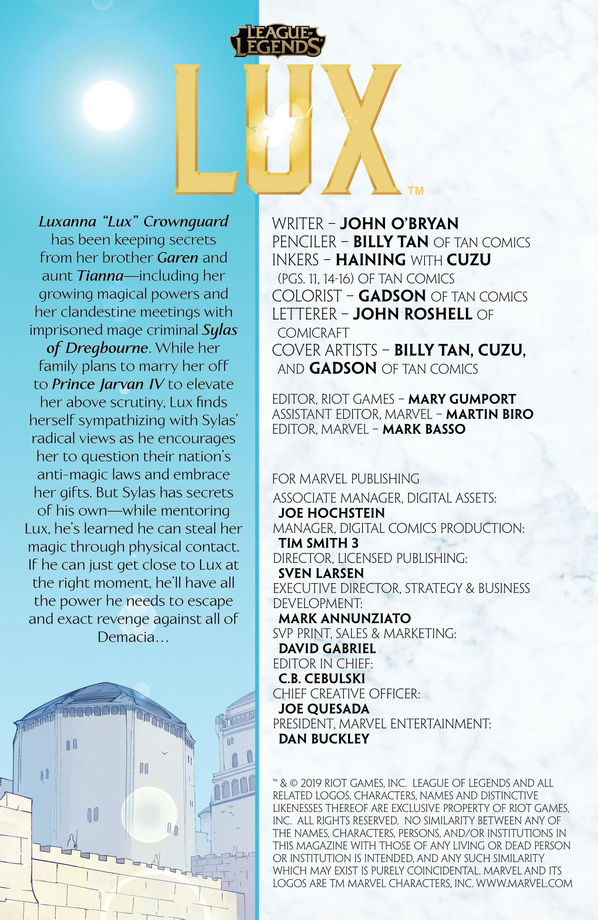 Lux: Issue 3