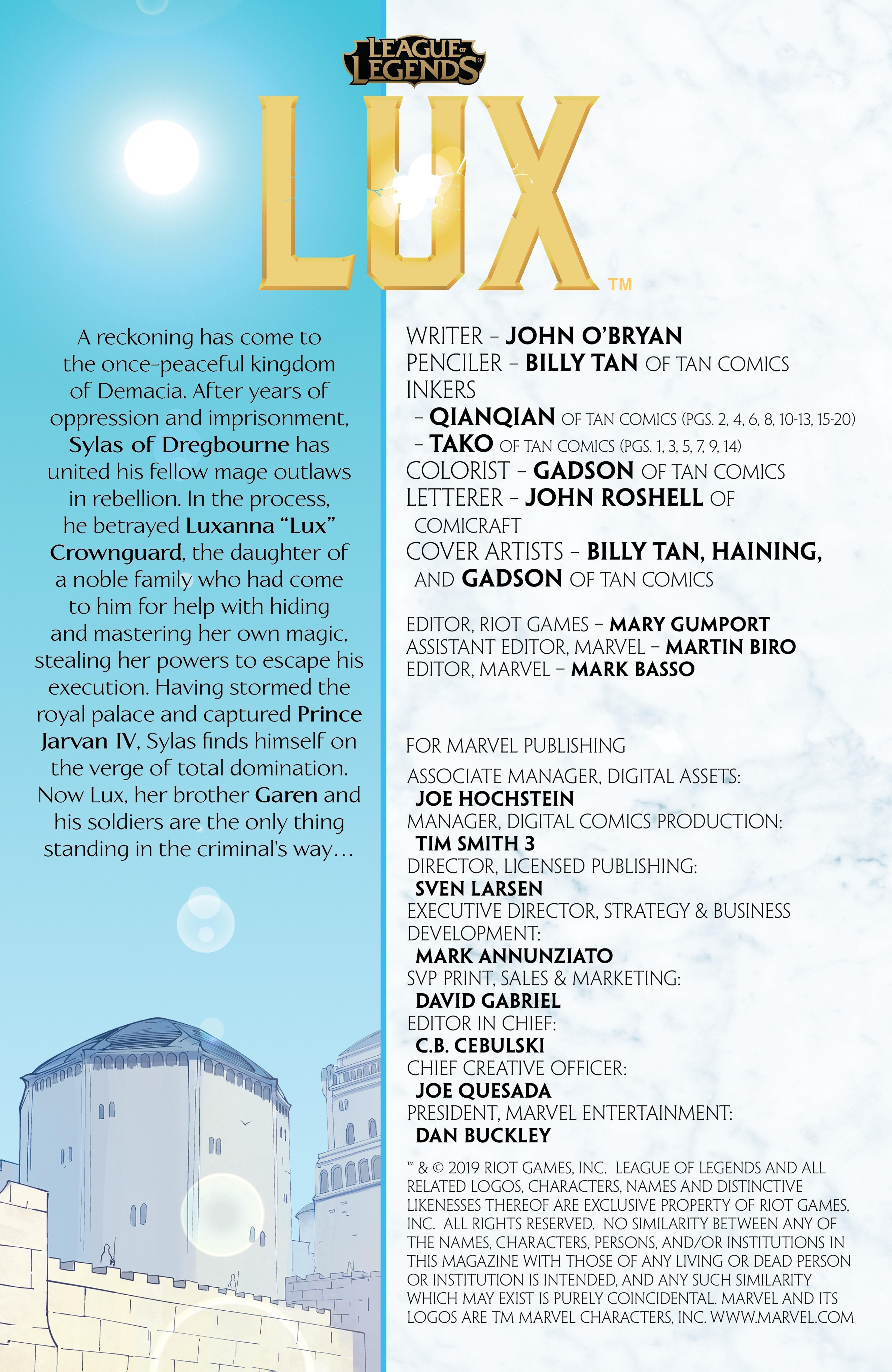 Lux: Issue 5