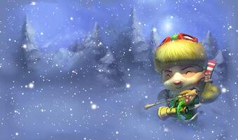 Teemo Glücklicher Elf-Splash alt