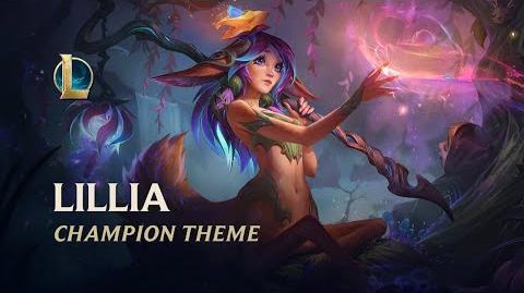 Lillia, The Bashful Bloom - Login Screen