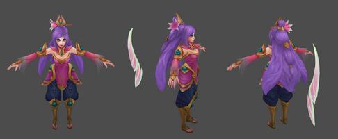Irelia Update Lotusorden- model 01