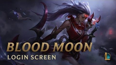 Blood Moon Diana - Login Screen